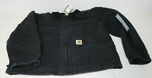 Carhartt Sandstone Traditional Jacket Canvas schwarz XL