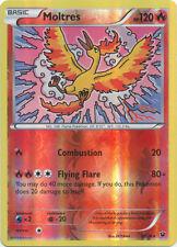 x1 Moltres - 9/124 - Rare - Reverse Holo Pokemon XY Fates Collide M/NM