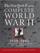 The New York Times Complete World War II 1939-1945...New Illustrated Hardcover