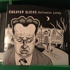 "Cheater Slicks - Destination Lonely LP garage punk vinyl 12"" daniel clowes art x"