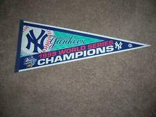 NY Yankees 1999 World Series full size pennant