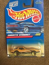 Hot Wheels 1999 1st Ed. Mainline Guaranteed For Life Yellow C3 Corvette Stingray