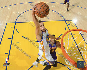 STEPHEN CURRY 2015-2016 GOLDEN STATE WARRIORS 8X10 ACTION PHOTO #4