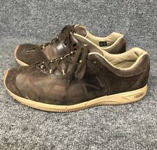 20345a1646 Keen Brown Leather & Suede Lace Up Fashion Shoes Sneakers Mens 9.5 EUC