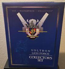 Toynami Masterpiece Voltron 20th Anniversary Lion Force Collector Set