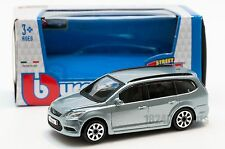Ford Focus Combi in Metalic Blue, Bburago 18-30226, scale 1:43, toy car gift