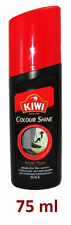 KIWI Color Shine Instant Liquid Shoe Polish Black nourishes and glossy 75ml