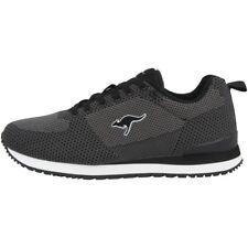 KangaROOS Retro Racer Woven Schuhe Sneaker Turnschuhe Sneakers black 81082-5003