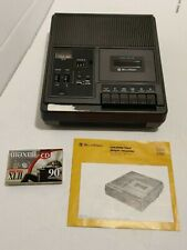 Bell & Howell Cassette Recorder // Professional Audio Equipment // Tested