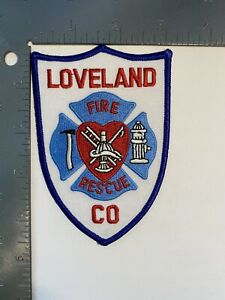 LOVELAND FIRE RESCUE COLORADO PATCH