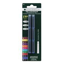 Monteverde Ink Cartridge Refills - International Size - Blue 6-pack G302BU