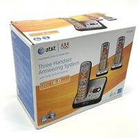 New!AT&T EL52300 3-Handset DECT 6.0 Cordless Phone with Digital Answering System