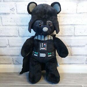 "18"" Darth Vader Star Wars Build A Bear BAB Black Soft Toy Plush"