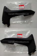 Honda CBR125R  Left and Right BLACK Middle Fairing Side Panel Cover 2011-2017