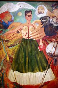 Frida Kahlo 15 Movie Poster Canvas Picture Art Premium Quality