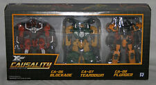transformers fansproject causality crossfire x-fire ca-06 ca-07 ca-08 insecticon