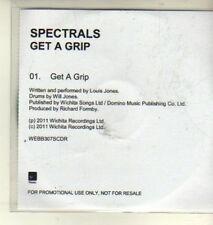 (CW456) Spectrals, Get A Grip - 2011 DJ CD