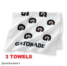 "(3) - GATORADE SPORTS TOWEL ""Great For All Sports"" *NEW"