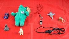 Lot of 8 Vintage Toys Wind Rabbit Whistles Jet Plane Bell Salvinos Bammers W3B30