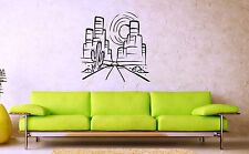 Wall Stickers Vinyl Decal Grand Canyon Cactus Road Nature Desert ig1666