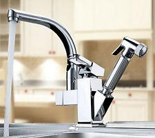Spedizione gratuita girevole e estraibile miscelatore rubinetto della cucina I43