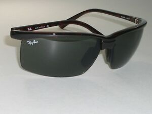 RAY BAN RB4025 628/71 STUNNING DARK TORT PS SPORT NYLOR WRAPS SUNGLASSES w/CASE