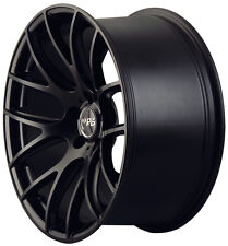"19"" Miro 111 Wheels For Audi A4 VW Passat CC 19x8.5 Inch Black Rims Set (4)"