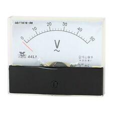 AC 50V Analog Panel Volt Voltage Meter Voltmeter Gauge AC 0-50V 44L1