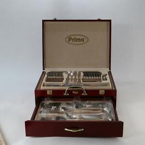 Prima Carisbrooke 95pcs Cutlery Set Chrome-nickel-Steel With Case