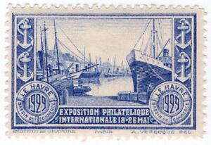 (I.B-CKK) France Cinderella : International Stamp Exhibition (Le Harve 1929)