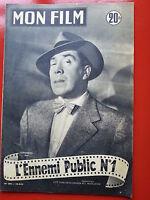 1954 mon film n°396 FERNANDEL  dans L'ENNEMI PUBLIC N°1