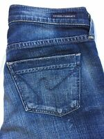 Citizens Of Humanity Dita Petite Bootcut Leg Jeans Tag Size 24 Distressed Denim