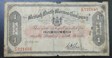 British North Borneo Company, Scarce $1 1940, One Dollar, Malaya / Sabah note