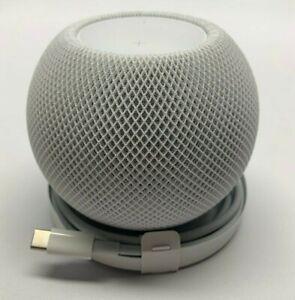 New Apple Home Pod mini Smart Speaker - White A2374 (MY5H2LL/A) Open Box