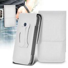 White Tablet & eReader Folding Folio Cases Folios for Universal