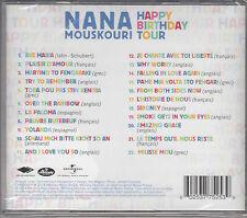 Nana Mouskouri - Happy Birthday Tour  - (CD/NEU/OVP in Folie)