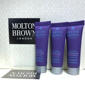 Molton Brown Ylang-ylang Replenshing Hand Cream 3x 7ml
