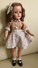 """14"""" VINTAGE 1950'S Hard Plastic Nanette Marked R&B Beautiful Condition"""