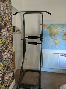 DS Compact full workout, pull up, dips abs station fitness body training weights