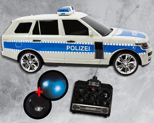 RC Polizeiauto mit Licht und Sound Ferngesteuert Auto Modellauto Kinderspielzeug