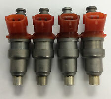 Set of 4 FJ34 OEM NEW Fuel Injector Supercharged TOYOTA MR2 1.6L (1988-1989)