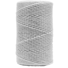 Electric Fence Polywire Trident White 1300/'