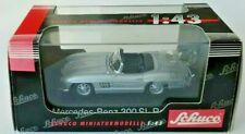 Schuco 02533 Mercedes-Benz 300 SL Roadster Silber Modell HO 1:43 OVP