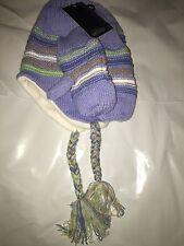 Knit Hat Mittens Set Toddler Girls Size 2-4 Years