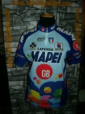 Vintage Cycling jersey shirt '90s Mapei Colnago maglia bici ciclismo
