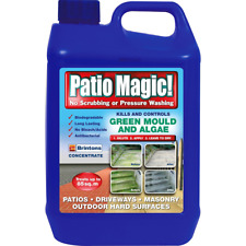 Patio Magic! Green Mould and Algae Killer Liquid Concentrate Bottle, 2.5 L