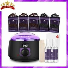 WAX WARMER Hair Removal Waxing Kit for Underarms Legs Back Face Body BLITZWAX