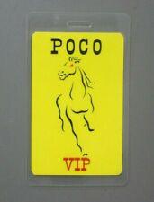 Poco backstage pass laminated Vip horse artwork Authentic!