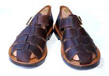 TOMMY BAHAMA Sandals Dark Brown 13D 13M 13 D M Italy TB 151 Espresso Mahogany