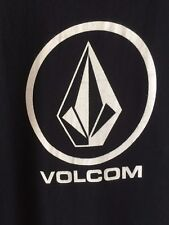 Volcom Stone Logo Tee Shirt Black Men's Size Large